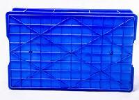 重庆厂家供应 PP 蓝色 450-190型 塑料周转箱
