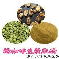 绿咖啡豆提取物 绿原酸 兰州厂家现货