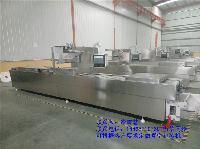 DZDL-520/420/320连续式全自动拉伸膜真空包装机