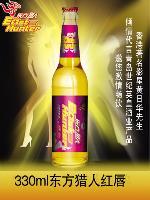 东方猎人红唇啤酒  330ml瓶装
