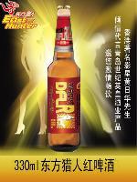 东方猎人红啤酒  330ml瓶装