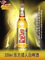 东方猎人白啤酒  330ml瓶装