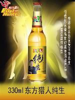东方猎人纯生啤酒  330ml瓶装