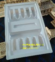 10ml10支对装口服液托医药吸塑包装冻干粉针剂包装盒来样订制药托
