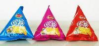 直销锅巴蚕豆包装机灌装设备 颗粒微颗粒类物料三角包定量秤
