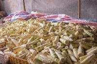 廣東英德西牛鎮麻竹筍筍絲筍干筍片酸筍出口級