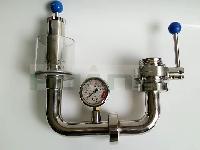 卫生级不锈钢啤酒发酵罐排气阀,凯塞曼同款排气阀,水封阀保压阀