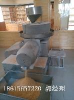 现林xl-100石磨面粉机 电动石磨磨粉机