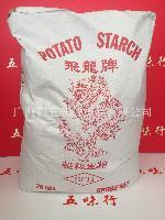 马铃薯淀粉 丹麦进口小飞龙生粉25kg一包食用生粉