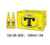 小瓶啤酒精装啤酒夜场专用啤酒330毫升啤酒