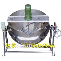 导热油电加热夹层锅 带搅拌 免锅炉设备