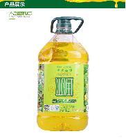 供应 山润压榨菜籽油5L 全压榨食用油 厂家直销