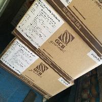供应巧克力大块 早苗马来西亚丝博代可可脂黑巧克力板1kg*10包/箱