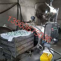 厂家供应双层热水循环式高温高压杀菌锅