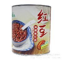 广村红豆罐头 珍珠奶茶甜品原料3.2KG 加糖蜜红豆 怡泰批发