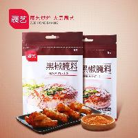 展艺黑椒腌料 烧烤调味料140g 烤肉料 鸡翅调料