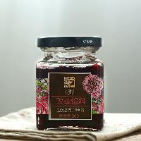 鮮花月餅糕點餡料200g 玫瑰果醬鮮花醬 花知道云南玫瑰花醬