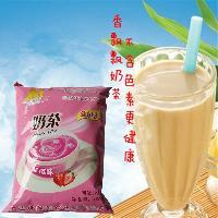 一件代发香飘飘奶茶 餐饮自助机专用奶茶粉 草莓味奶茶粉1kg袋装