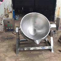 500L电加热夹层锅 可倾斜式夹层锅 低价出售夹层锅 蒸煮锅