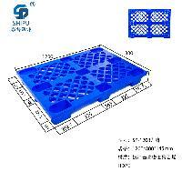 托盘   仓储专用塑料托盘   SP1210九脚网格网轻托盘生产供应