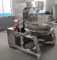 肉冻熬煮锅 咖喱熬制锅 可倾斜搅拌夹层锅