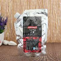 法国Andros安德鲁树莓颗粒果酱馅料 烘焙奶昔冰沙奶茶热饮*1kg