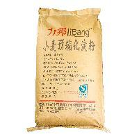 力邦小麦预糊化淀粉膨化食品糖果薯片沙司饼干速冻食品专用