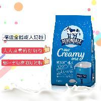 儿童奶粉牛奶1KG/袋 Devondale德运奶粉 澳洲全脂成人奶粉