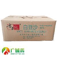 清水白芸豆 韩式裱花中式点心冰皮月饼馅料 京日白豆沙5kg*4/箱
