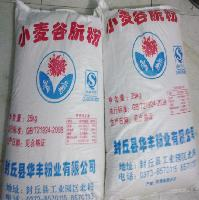 谷元粉批发 小麦蛋白面筋粉25kg 雪菊牌烤面筋专用谷朊粉