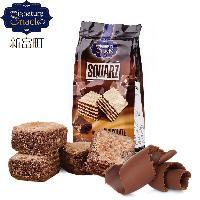 新富町威化饼干巧克力味 阿联酋迪拜进口休闲零食品粒粒状夹心