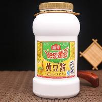 炒菜拌饭酱蒸鱼蒸排骨2kg 海天黄豆酱