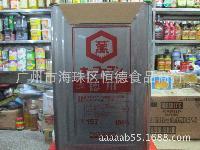 桶装 *日本原装进口万字牌德用浓口酿造酱油18升 料理店专用