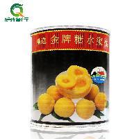 *糖水蜜桃罐头 822g/罐 烘焙黄桃边桃水果罐头 南非原装进口