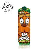 UMBONGO宾果芒果杂果饮料品100%欧洲进口儿童果汁1000ML不含色素