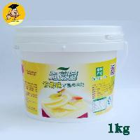 1kg 无蔗糖柠檬味果酱果馅 烘焙原料 装饰夹心淋面水晶光亮果膏