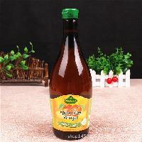 食用泡浸蛋香蕉水果醋凉拌 德国进口冠利无糖原浆纯苹果醋750ml