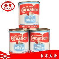 雀巢三花植脂淡奶 咖啡奶茶伴侣调制淡炼乳410g罐装奶精烘焙原料