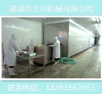 黄花鱼速冻 螃蟹速冻设备 隧道式液氮速冻机