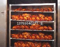 熏鸡上色烟熏炉 烧鸡加工设备