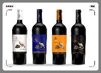 红酒酒标设计不干胶标签