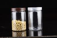 6510塑料瓶透明食品包装罐密封罐各类花草茶塑料罐子糖果罐pet瓶