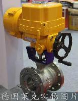 进口电动V型调节球阀中国办事处-德国莱克LIK品牌