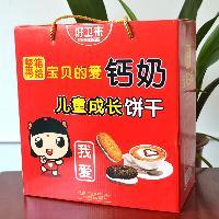 礼盒饼干厂家招商儿童成长饼干1.5kg