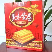 河南礼盒饼干美味蛋卷688g