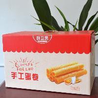 饼干年货礼盒批发手工蛋卷2kg