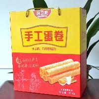 河南饼干食品厂手工蛋卷1218g