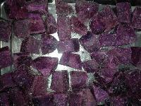 速冻紫薯块