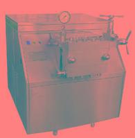 乳品、酱料、果汁饮料、化工制药行业专用设备,高压均质机