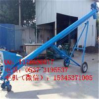移动式U型螺旋污泥输送机 碳钢螺杆加料机